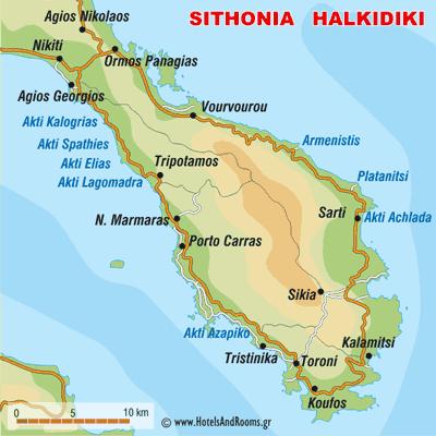 Sithonia Chalkidiki