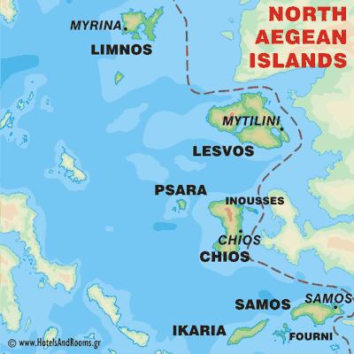 Север Эгейского моря